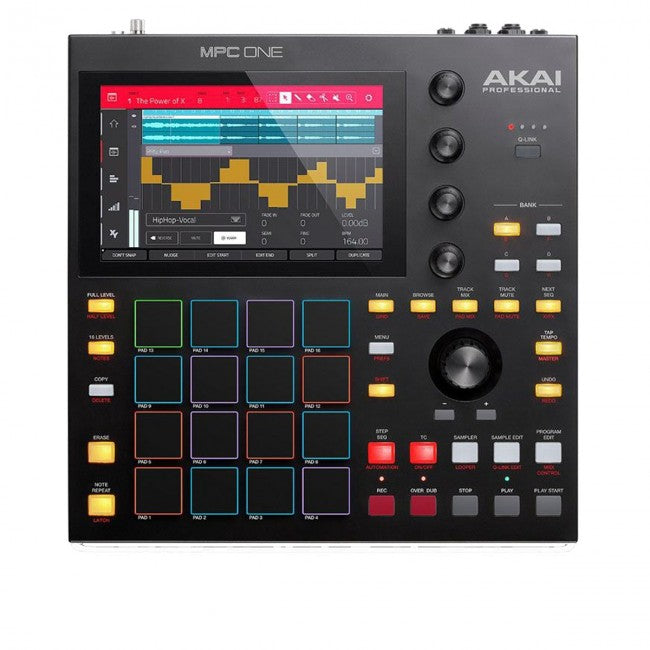 Akai MPC ONE Standalone Music Production Centre w/ 16 Pads & 7'' Screen