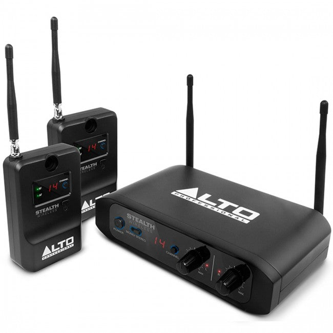 Alto Pro STEALTH Wireless Stereo System