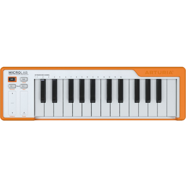 Arturia Microlab Keyboard Controller Orange