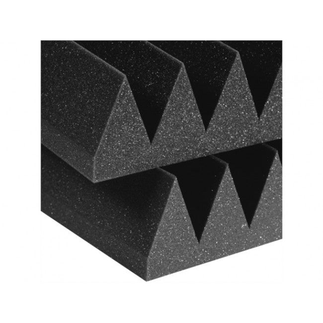 Auralex 4inch Studiofoam Wedge 2x2 Panels Charcoal