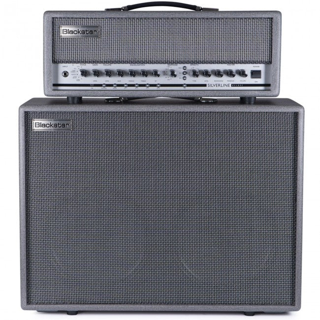 Blackstar Silverline Deluxe Guitar Amplifier 100w Head & 2x12'' Cabinet Amp + Cab Front