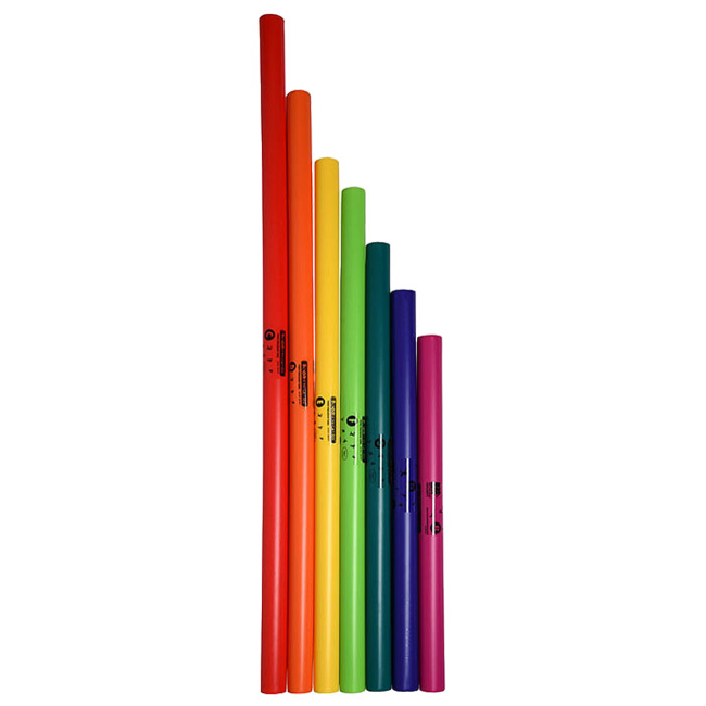 Boomwhackers 7-Note Bass Diatonic Set