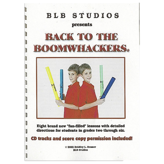 Boomwhackers Back To Boomwachkers Book/CD