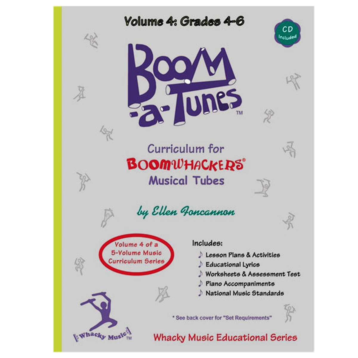 Boomwhackers Boom-A-Tunes Volume 4 Curriculum Book/CD