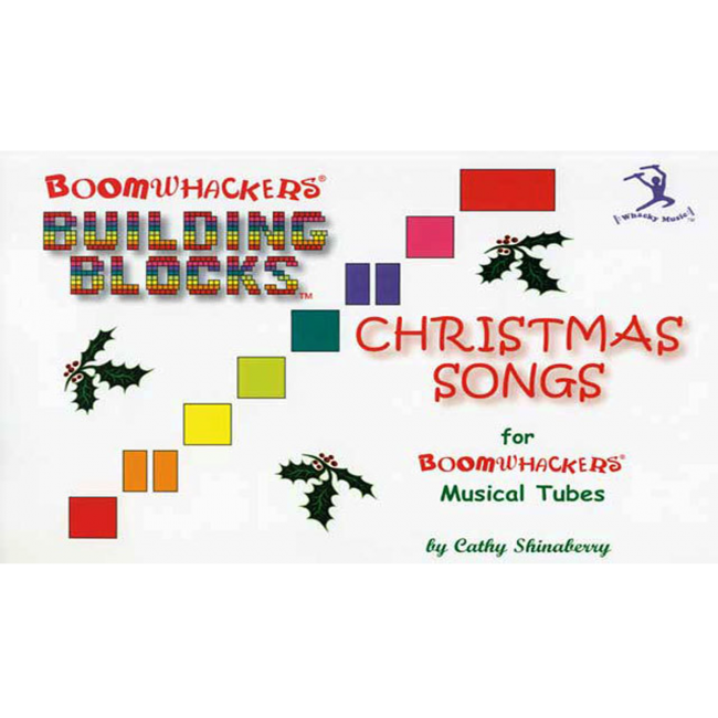 Boomwhackers Building Blocks Christmas Songs Book