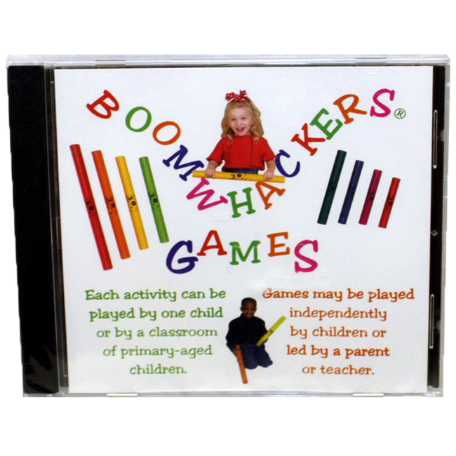Boomwhackers Games CD