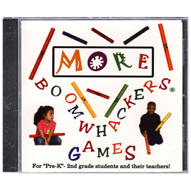Boomwhackers More Boomwhacker Games CD