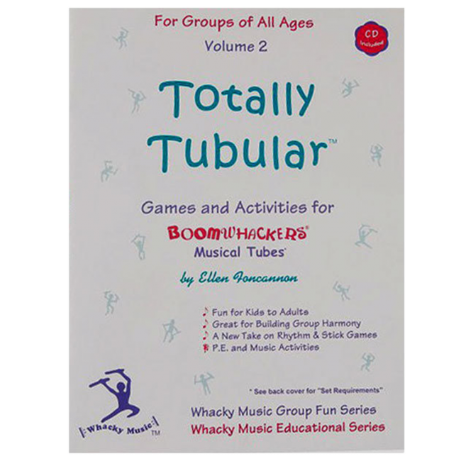 Boomwhackers Totally Tubular Volume 2 Book/CD