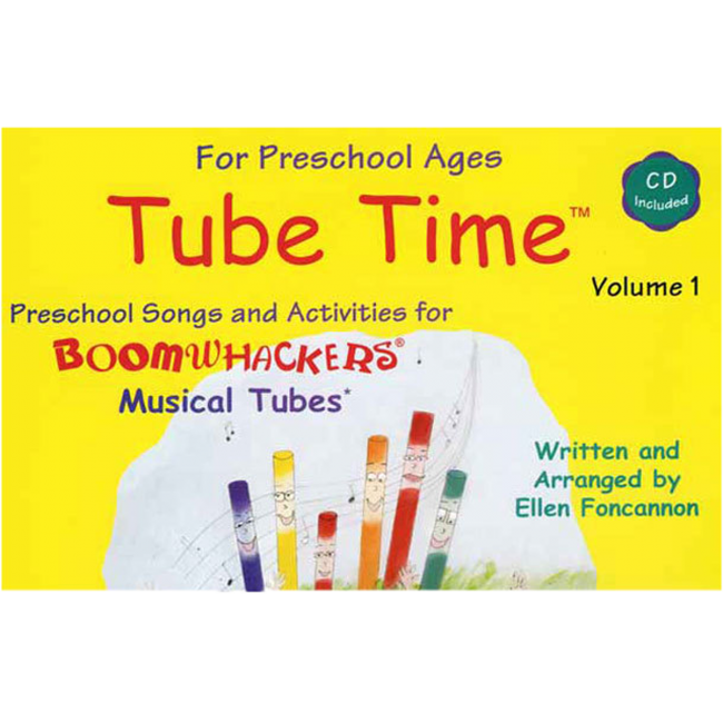 Boomwhackers Tube Time Volume 1 Book/CD