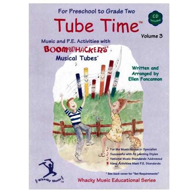 Boomwhackers Tube Time Volume 3 Book/CD