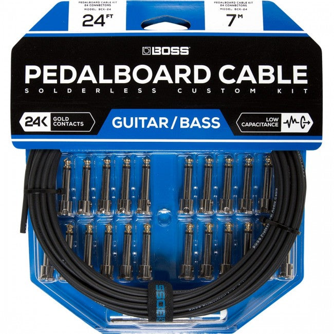 Boss BCK-24 Pedalboard Cable Kit