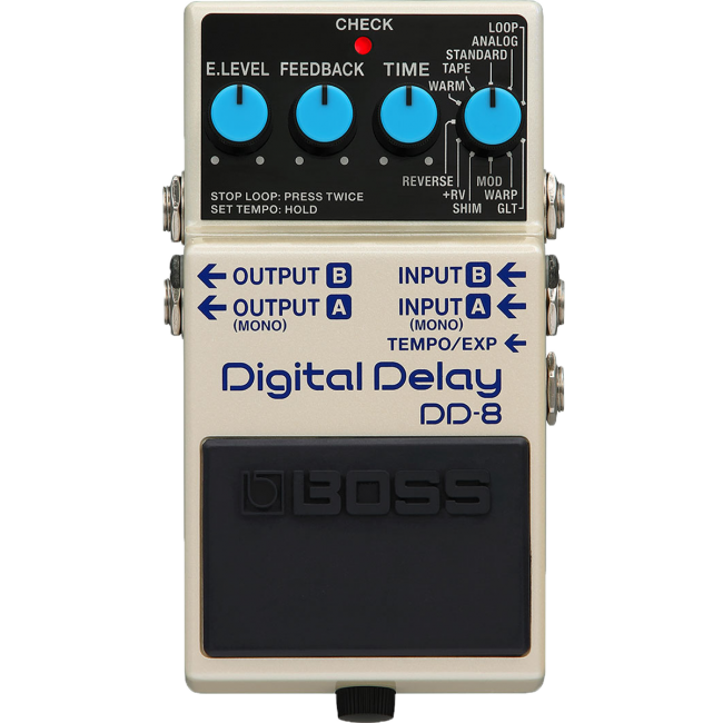 Boss DD-8 Digital Delay Effects Pedal DD8