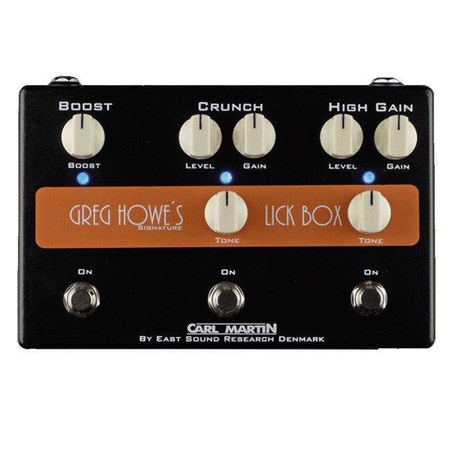 Carl Martin Greg Howe Lick Box Signature Effects Pedal