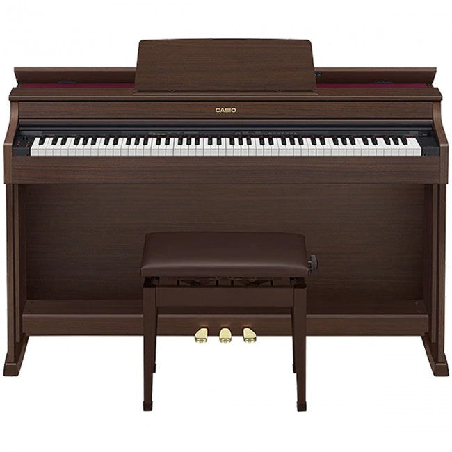 Casio AP-470 Celviano Digital Piano Brown w/ Bench