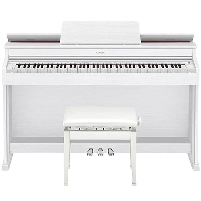 Casio AP-470 Celviano Digital Piano White w/ Bench