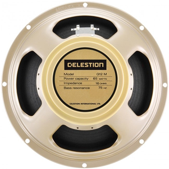 Celestion T5871 Classic Series G12M 65 Creamback Guitar Speaker 12 Inch 65W 16OHM