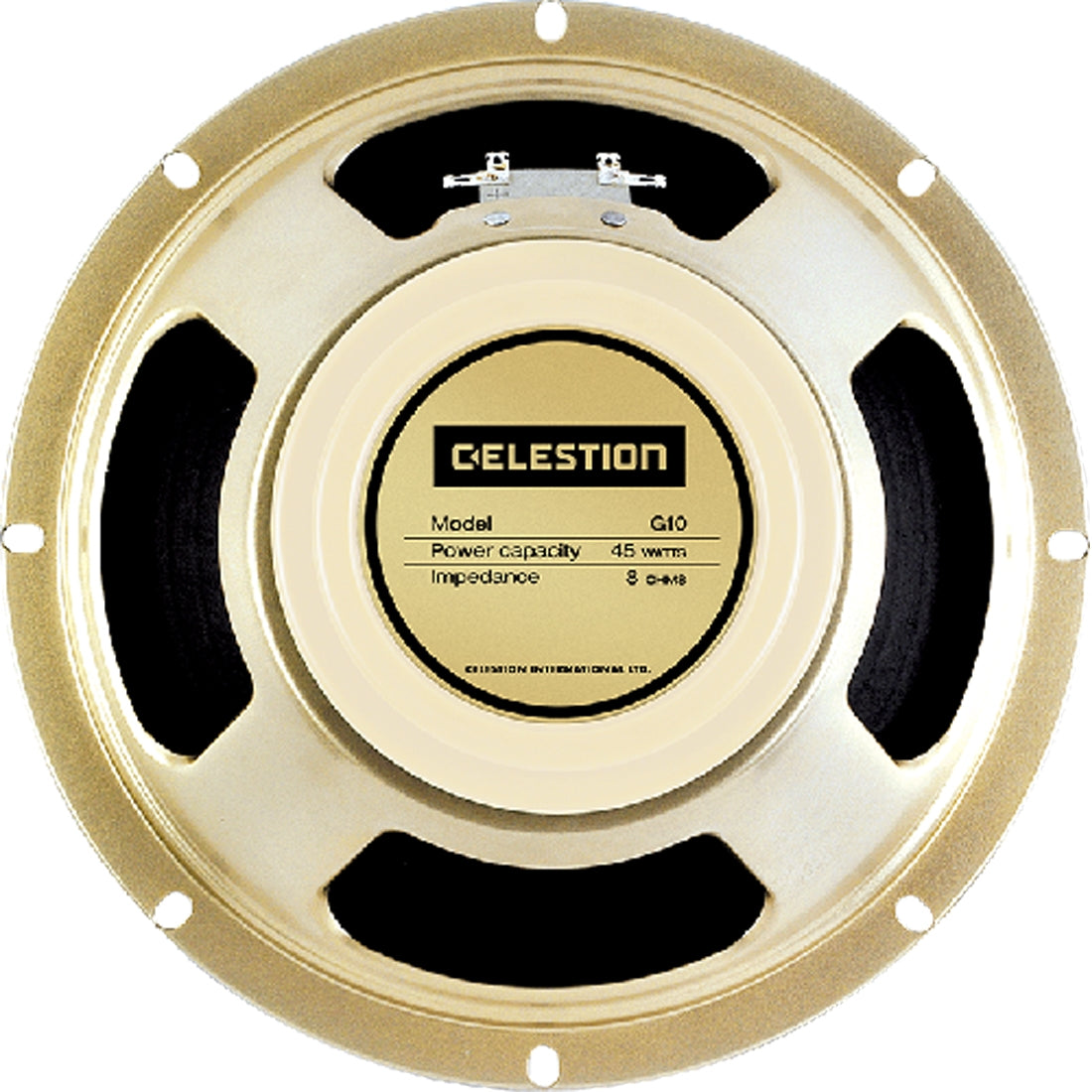 Celestion T6380 G10 CREAMBACK Guitar Speaker 10 Inch 45w 8ohm