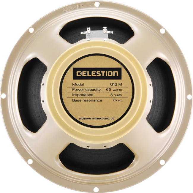 Celestion T5864 G12M 65 Creamback Guitar Speaker
