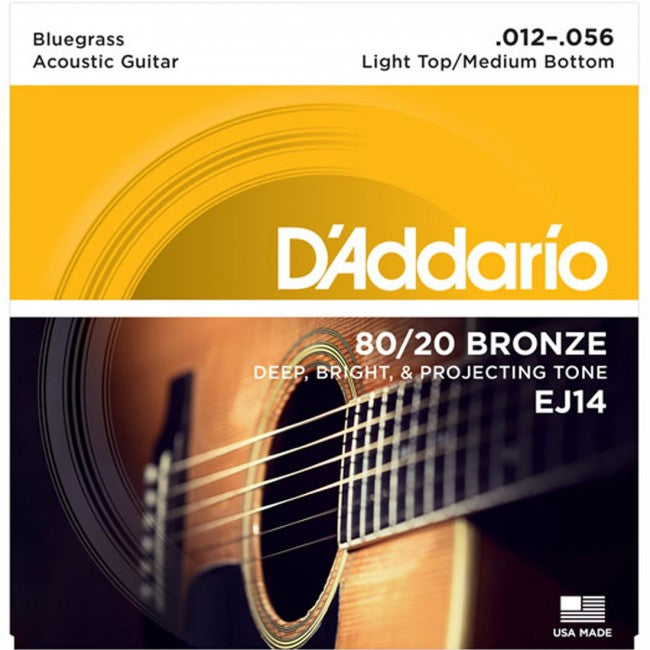 D'Addario EJ14 Acoustic Guitar Strings