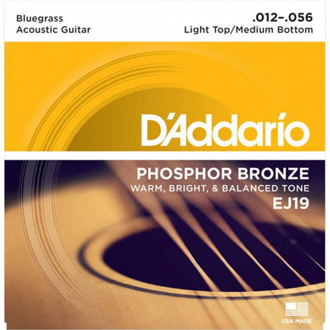 D'Addario EJ19 Acoustic Guitar Strings