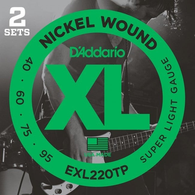 D'Addario EXL220TP Bass Guitar Strings