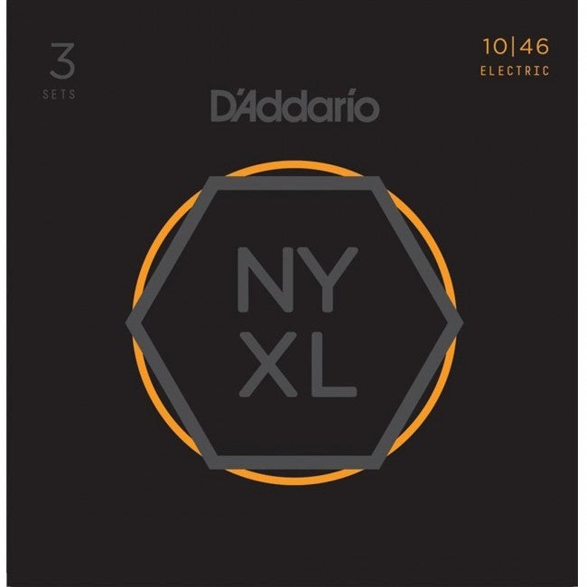 D'Addario NYXL1046-3P Electric Guitar Strings