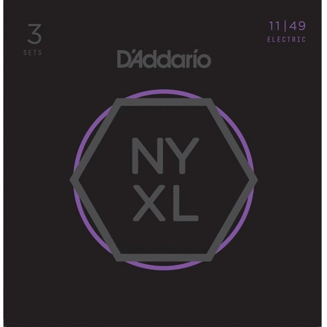 D'Addario NYXL1149-3P Electric Guitar Strings