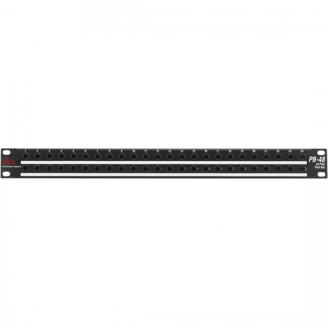DBX PB48 48 Point Patch Bay Rackmount