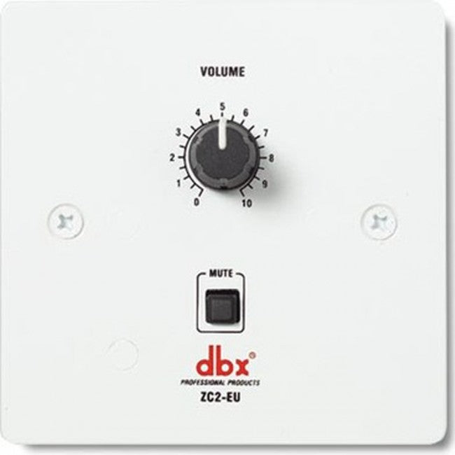 DBX ZC2 Wall-Mounted Programmable