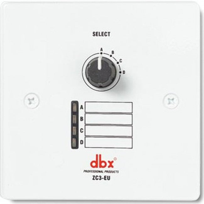 DBX ZC3 Wall-Mounted Programmable Selecter
