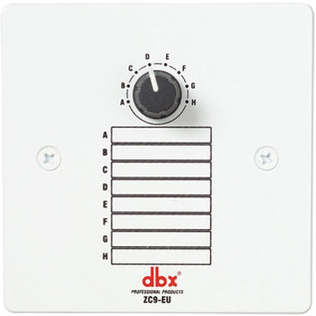 DBX ZC9 Wall-Mounted 8-Position