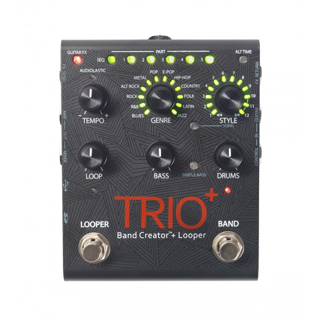 Digitech Trio+ Plus Bass Guitar Pedal