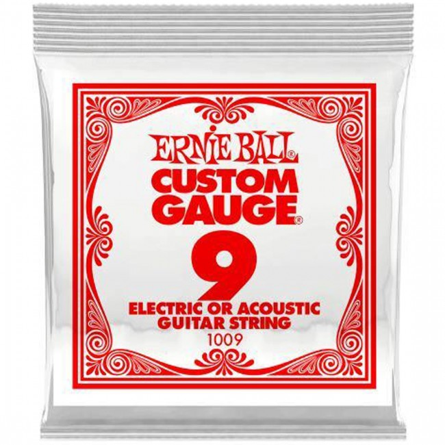 Ernie Ball 1009 Single Guitar String