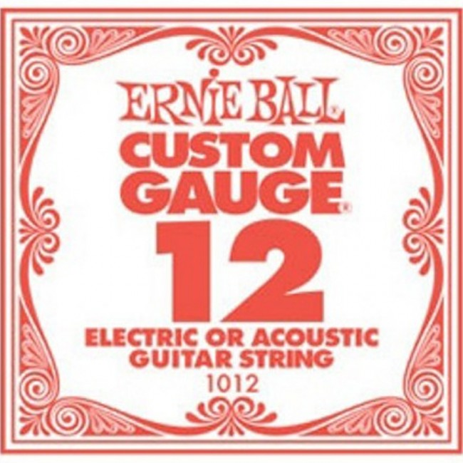 Ernie Ball 1012 Single Guitar String