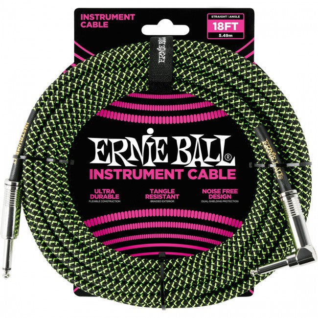 Ernie Ball 6082 Guitar Instrument Cable