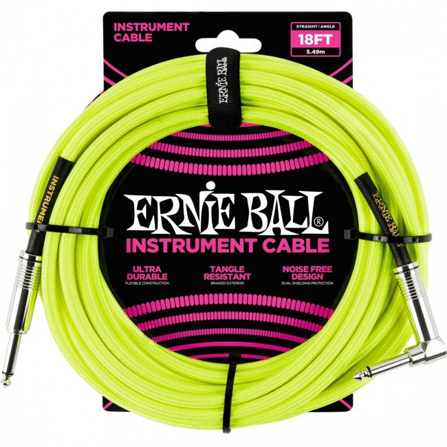 Ernie Ball 6085 Guitar Instrument Cable