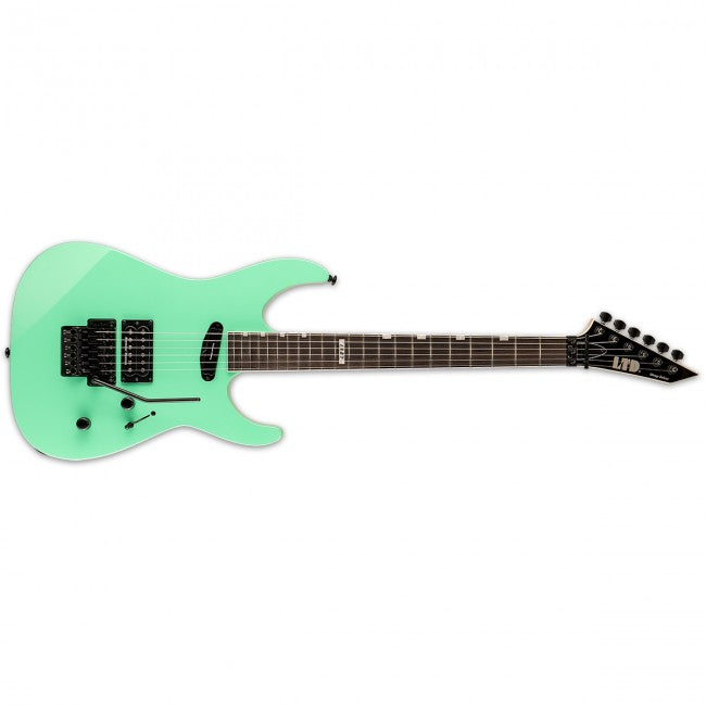 ESP LTD MIRAGE Deluxe '87 Electric Guitar Turquoise w/ Floyd Rose & Duncans