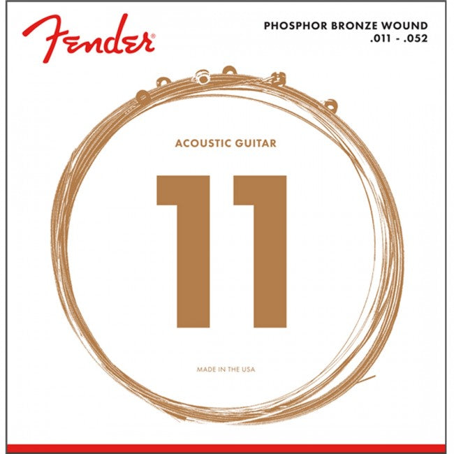 Fender 60CL Phosphor Bronze Acoustic Strings