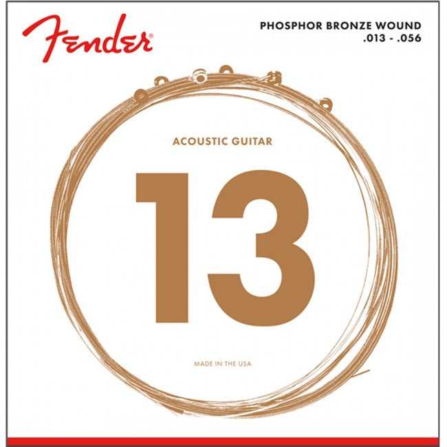 Fender 60M Phosphor Bronze Acoustic Strings
