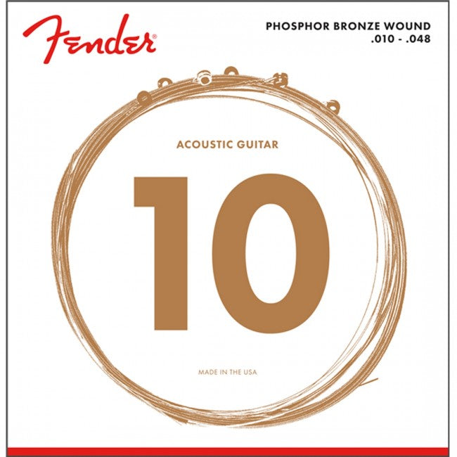 Fender 60XL Phosphor Bronze Acoustic Strings