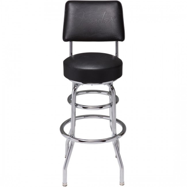 "Fender Blackout Guitar Stool 30"" Backrest Barstool"
