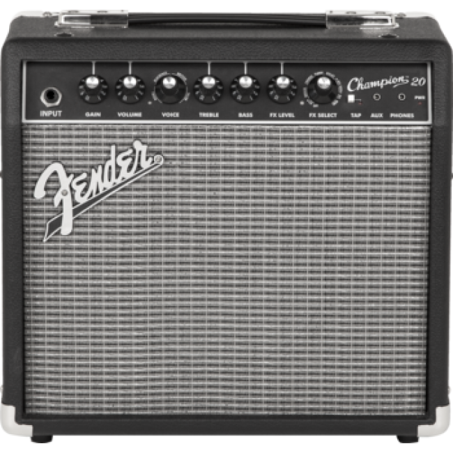 Fender Champion 20 Guitar Amplifier Combo Amp 20w 1x8