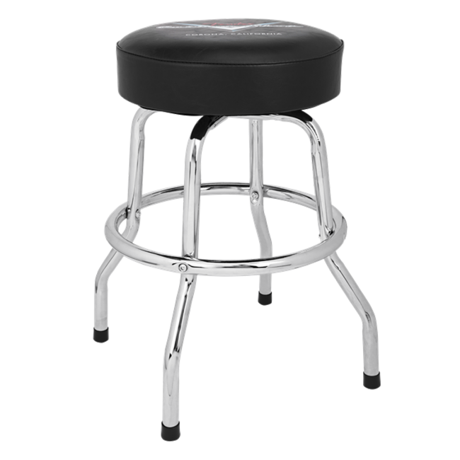 Fender Guitar Stool 24inch Custom Shop Pinstripe Barstool - 0990230020