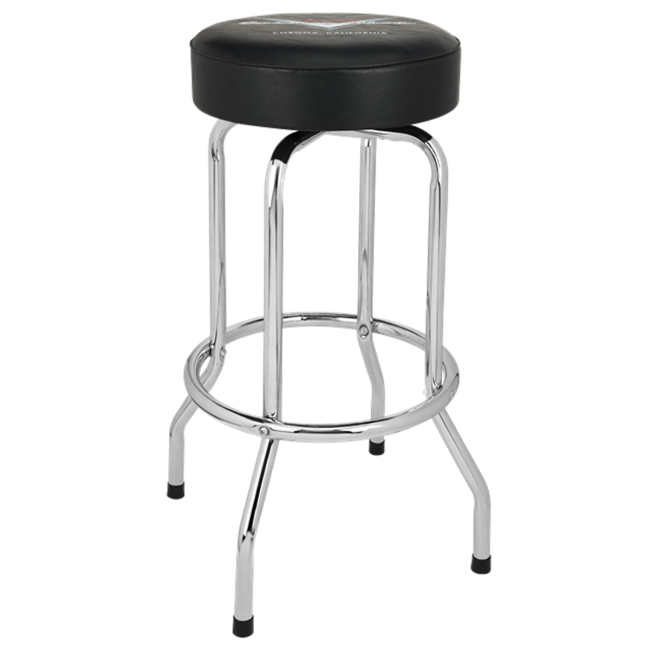 Fender Guitar Stool 30inch Custom Shop Pinstripe Barstool - 0990230010