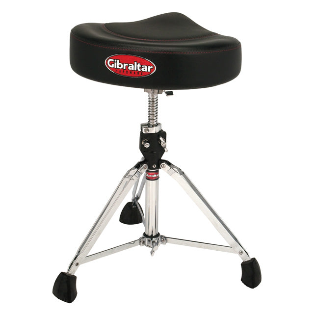 Gibraltar 9608-2T Drum Throne Saddle Stool 2-Tone GI96082T