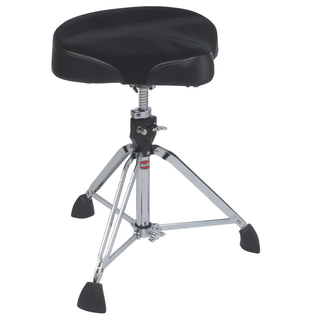 Gibraltar 9608M Drum Throne Stool Motorcylce Style Contoured Seat GI9608M