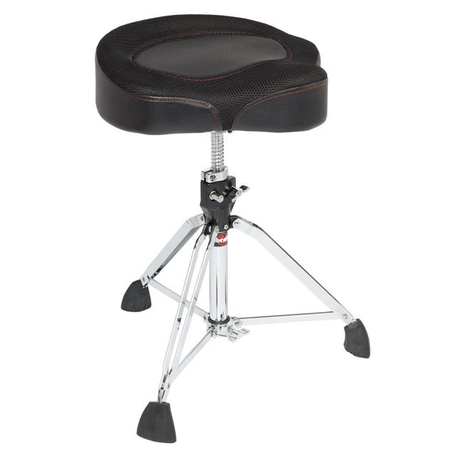 Gibraltar 9608MW2T Drum Throne Stool Motocycle Style Seat Double Braced Throne GI9608MW2T