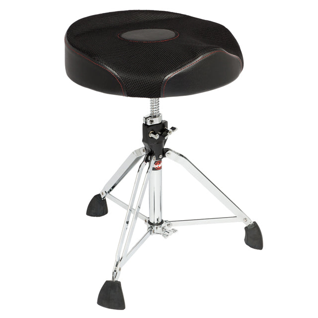 Gibraltar 9608RW2T Drum Throne Stool Worm Thread Double Braced GI9608RW2T