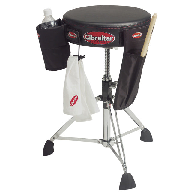 Gibraltar 9608VA Drum Throne Stool w/ Velcro Attachments GI9608VA