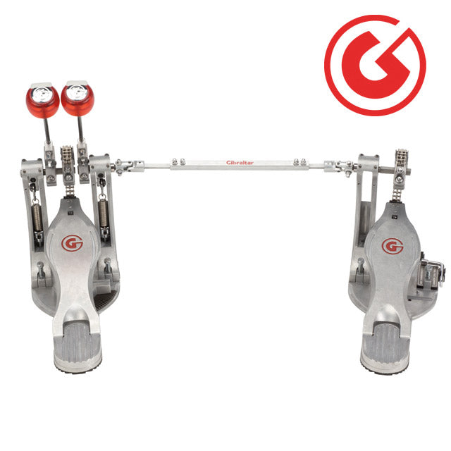 Gibraltar 9711G-LFTDB Lefty Double Kick Bass Drum Pedal G-Class w/ Case GI9711GLFTDB